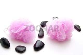 Schwamm mit Steine