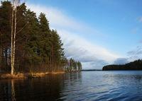Lake in Finland