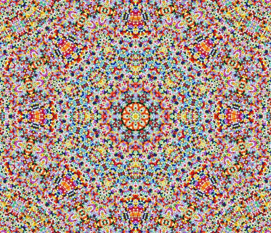 Foto Mandala Mit Bunten Perlen Bild 2689032