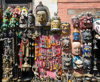 Market in Kathmandu,