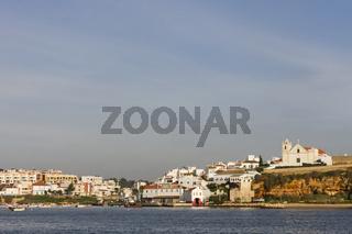 Stadtansicht von Ferragudo