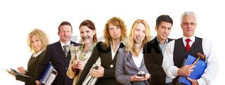 Business-Team aus Geschäftsleuten
