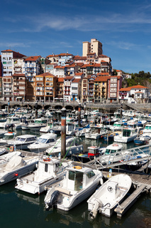 Port of Bermeo, Bizkaia, Basque Country, Spain