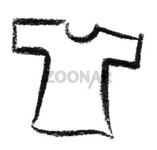 sketched shirt