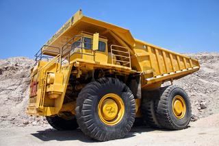 Truck in der Mine Chuquicamata, Chile