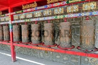 Gebetsmühlen Tibet