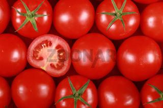 Hintergrund aus Tomaten