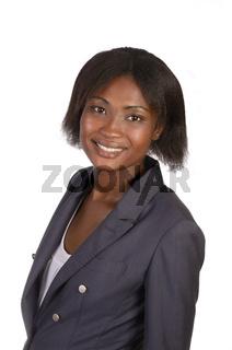 Afrikanische Geschäftsfrau