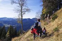 Rast bei der Bergtour Wanderung