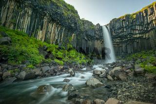 Svartifoss, Black Waterfall, Iceland