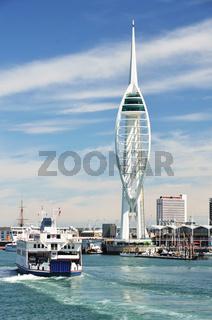 Hafen von Portsmouth