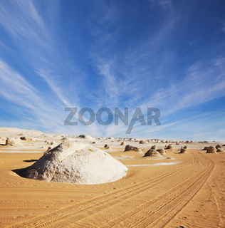 Desert in Egypt