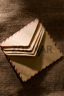 Envelope group with light and shadow