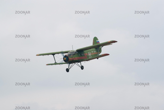 An-2 plane in flight