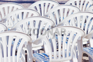 Sammlung von Stühlen