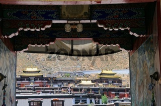 Kloster Tashilhunpo  Shigatse Tibet