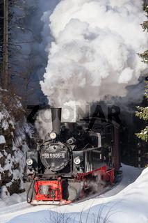 Harzer Schmalspurbahnen Selketalbahn im Winter