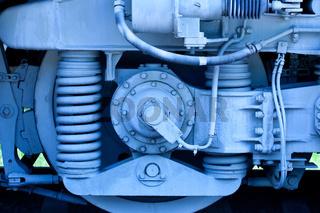 part of a old lokomotive