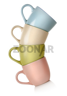 Colored mugs