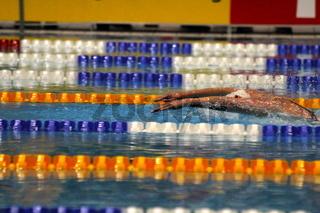 Schmetterlingsschwimmerin