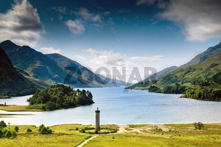Schottland - Glenfinnan Monument