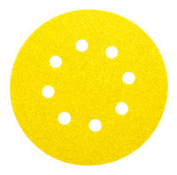 perforated abrasive wheel