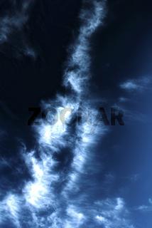 Magic blue hdr clouds 02