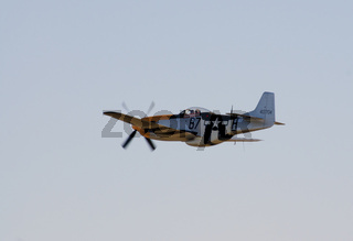 P-51 Mustang in flight