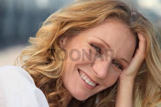 Portrait of a natural woman