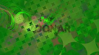 green 3D loops
