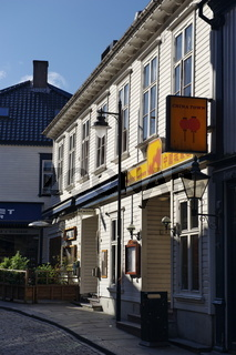 Holzhäuser in Stavanger 1