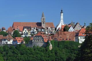 Stadtansicht von Rothenburg ob der Tauber