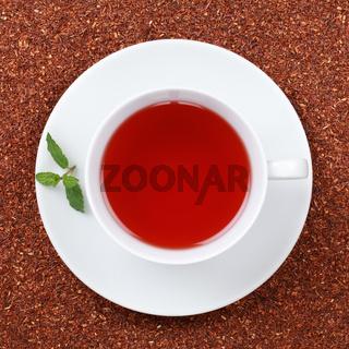 Rooibos Tee in einer Teetasse
