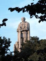 Ritter Bismarck Denkmal aus Stein