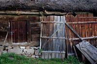 Rustikales Scheunentor aus Holz