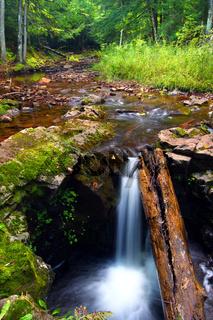 Union River Gorge Cascades
