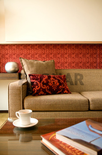 Wohnzimmer mit schönem Interieur Design