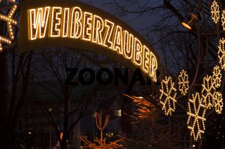 Weihnachtsmarkt Weisser Zauber in Hamburg