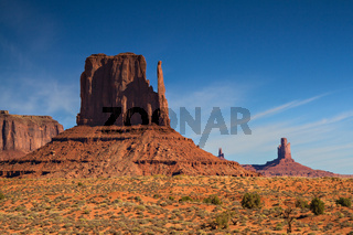 Buttes of the Monument Valley