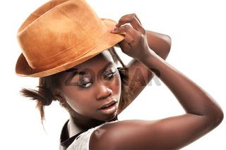 beautiful young black girl