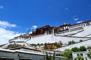Dem Himmel entgegen Potala Palast Lhasa