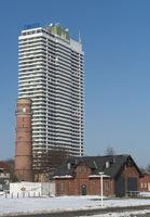 Hotel, Leuchturm und Rettungsschuppen - Travemünde