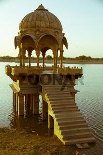 Chattris in Jaisalmer