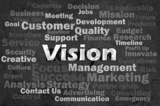 Vision concept with other related words