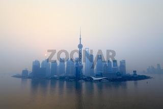 shanghai at morning