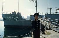 Gekaperte SS Pueblo in Pjöngjang