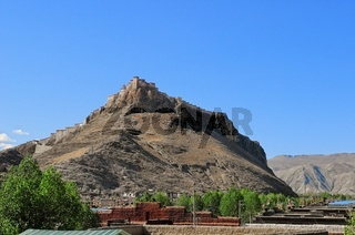 Festungsanlage Dzong Gyantse Tibet China