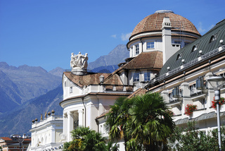 The Kurhaus (built 1911) in Meran (South Tyrol