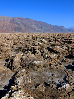 Devils Golf Course in Death Valley