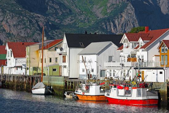 Henningsvaer Hafen